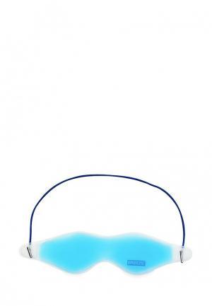 Маска для кожи вокруг глаз Gezatone Гелевая BREEZE. Цвет: голубой