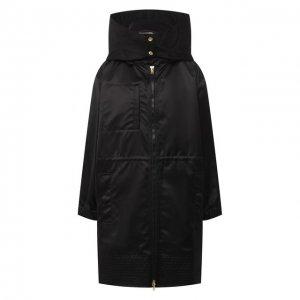 Комплект из куртки и жилета Escada. Цвет: чёрный