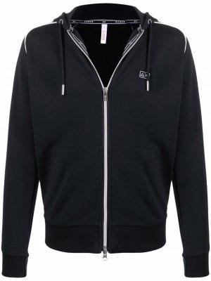 Logo-patch hoodie Sun 68. Цвет: черный