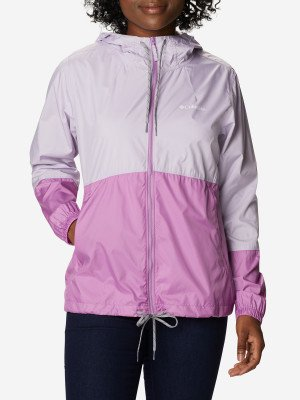 Ветровка женская Flash Forward™, размер 44 Columbia. Цвет: фиолетовый