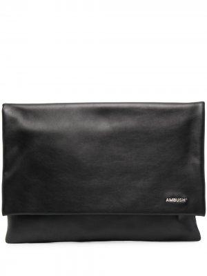 Большая сумка для ноутбука AMBUSH. Цвет: черный