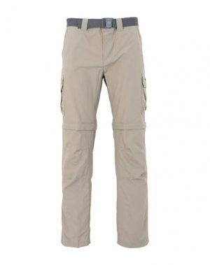 Повседневные брюки COLUMBIA. Цвет: бежевый
