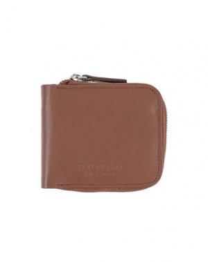 Бумажник BOLONGARO TREVOR. Цвет: коричневый