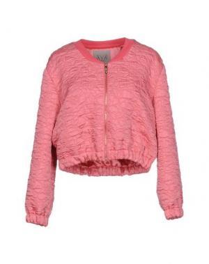 Куртка BETTY BLUE. Цвет: розовый