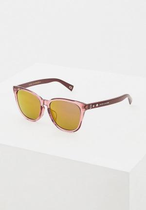 Очки солнцезащитные Marc Jacobs 345/F/S LHF. Цвет: розовый