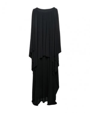 Длинное платье NORMA KAMALI. Цвет: черный