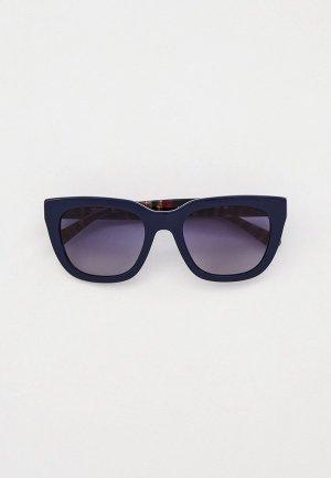 Очки солнцезащитные Coach HC8318 56324L. Цвет: синий