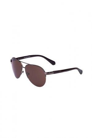 Очки солнцезащитные Enni Marco. Цвет: темно-серый