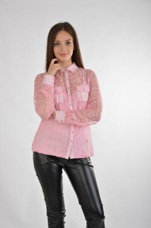 Блузка в комплекте (2 изд.) BEST CONNECTIONS. Цвет: розовый