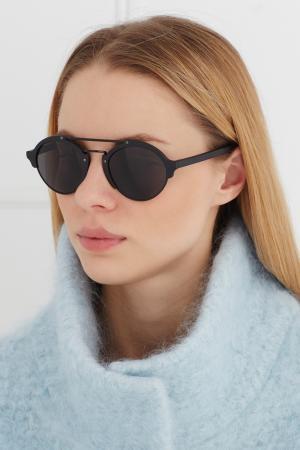 Солнцезащитные очки Milan II Illesteva. Цвет: черный
