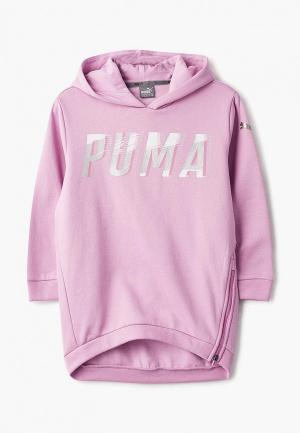 Худи PUMA. Цвет: розовый