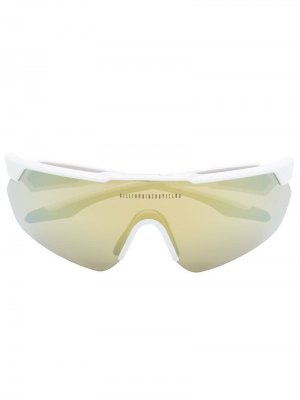 Солнцезащитные очки Billionaire Boys Club 001 Italia Independent. Цвет: белый