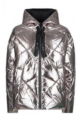 Куртка REPLAY. Цвет: серый