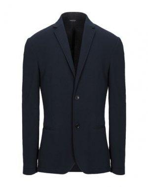 Пиджак DANIELE ALESSANDRINI HOMME. Цвет: темно-синий