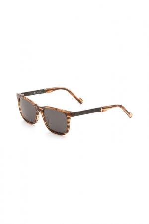 Очки солнцезащитные Enni Marco. Цвет: коричневый, светло-коричневый,