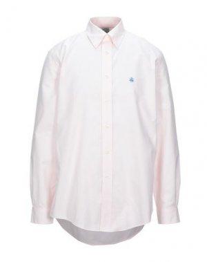 Pубашка BROOKS BROTHERS. Цвет: светло-розовый