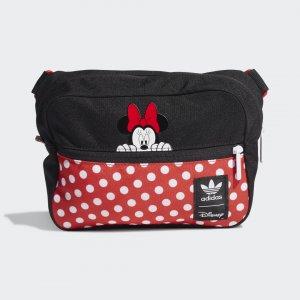 Сумка на пояс Minnie Originals adidas. Цвет: черный