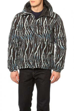 Куртка ASPESI. Цвет: черный, синий