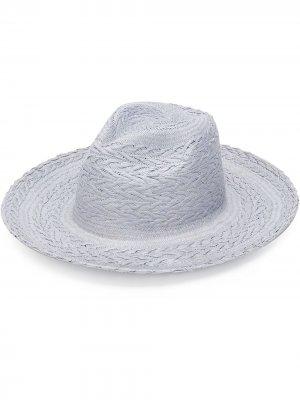 Соломенная шляпа Redwood THE FREYA BRAND. Цвет: фиолетовый