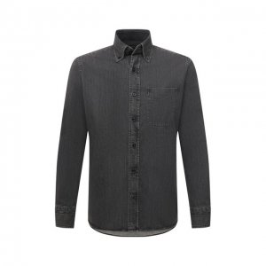 Джинсовая рубашка Tom Ford. Цвет: серый