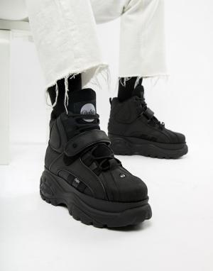 Черные кроссовки на толстой подошве Classic-Черный Buffalo