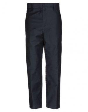 Повседневные брюки JIL SANDER. Цвет: темно-синий