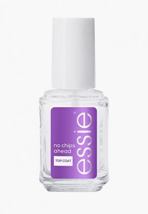 Топовое покрытие Essie против сколов и отслаивания No chips ahead», защищающий, 13.5 мл. Цвет: прозрачный