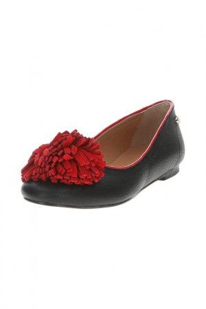 Туфли Love Moschino. Цвет: черный, красный
