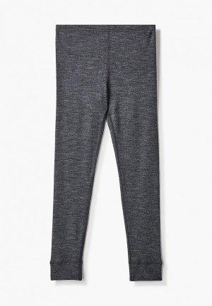 Термобелье низ Wool&Cotton. Цвет: серый