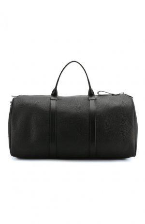 Кожаная дорожная сумка Tom Ford. Цвет: чёрный