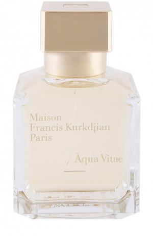 Туалетная вода Aqua Vitae Maison Francis Kurkdjian. Цвет: бесцветный