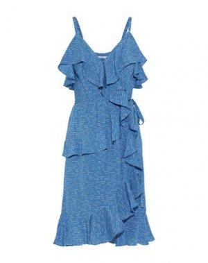 Платье до колена DEREK LAM 10 CROSBY. Цвет: лазурный