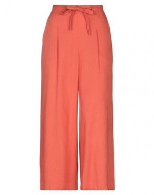 Повседневные брюки GARCIA. Цвет: ржаво-коричневый