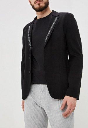 Пиджак Hugo. Цвет: черный