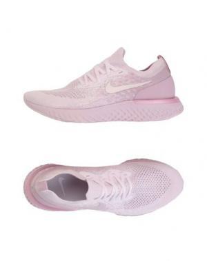 Низкие кеды и кроссовки NIKE. Цвет: светло-розовый
