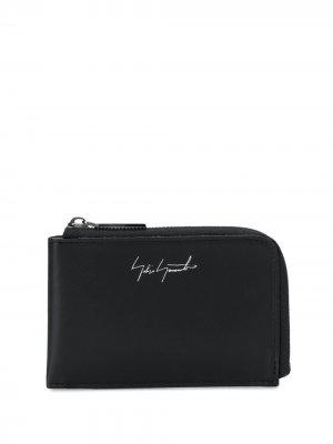 Кошелек с логотипом Discord Yohji Yamamoto. Цвет: черный