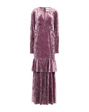 Длинное платье ANIYE BY. Цвет: светло-фиолетовый