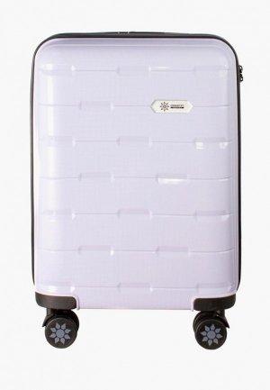 Чемодан Proffi travel Tour Fashion, S. Цвет: фиолетовый
