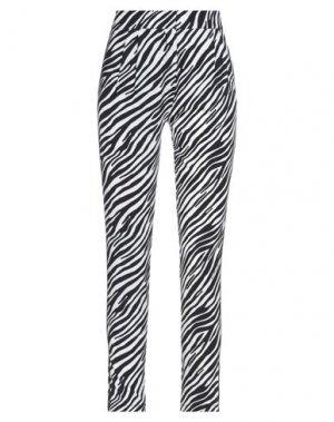 Повседневные брюки FORNARINA. Цвет: черный