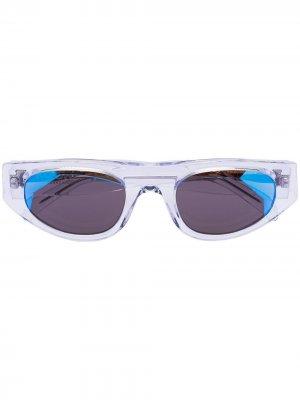 Солнцезащитные очки Cobalt из коллаборации с Koche Thierry Lasry. Цвет: синий