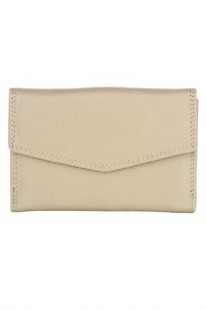 Wallet WOODLAND LEATHERS. Цвет: taupe