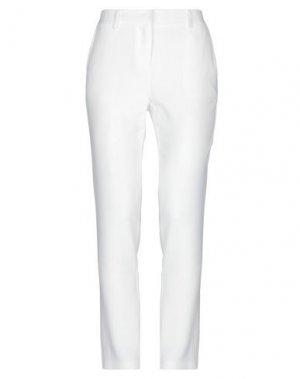 Повседневные брюки ATOS LOMBARDINI. Цвет: слоновая кость