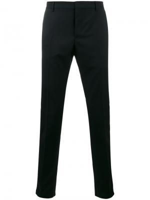 Классические брюки Valentino. Цвет: чёрный
