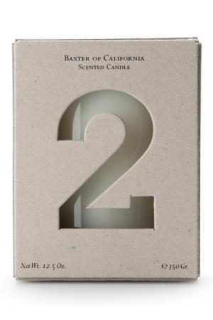 Ароматическая свеча «White Wood 2» Baxter of California. Цвет: без цвета