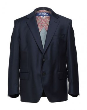 Пиджак JUNYA WATANABE. Цвет: темно-синий