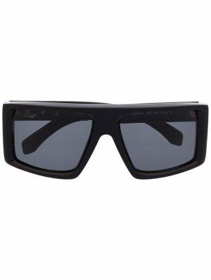 Солнцезащитные очки Off-White. Цвет: черный