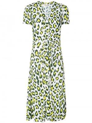 Платье Cecilia с леопардовым принтом Diane von Furstenberg