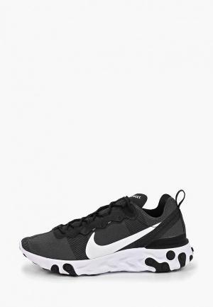 Кроссовки Nike REACT ELEMENT 55 MENS SHOE. Цвет: черный