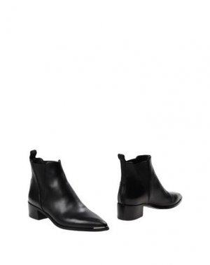 Полусапоги и высокие ботинки ACNE STUDIOS. Цвет: черный