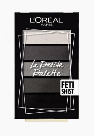 Палетка для глаз LOreal Paris L'Oreal La Petite Palette, оттенок 06, Одержимость. Цвет: прозрачный